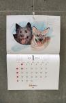 壁掛けカレンダー1